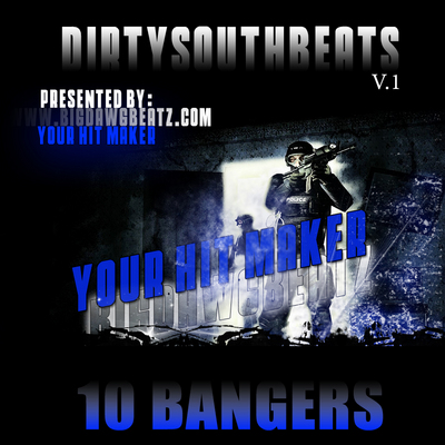 Product picture Beat CD DirtySouthBeats Vol.1